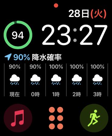 文字盤(プライベート用)