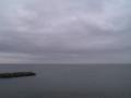 海と曇り空