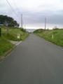 平内海岸への道