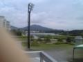 道の駅 高田松原 屋上からみた岩手山の隣ぐらいの山
