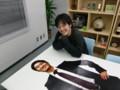 マイネット・ジャパンblog - 等身大パネルができるまで ( 笑顔は結果で