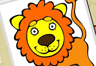 子供向け無料ディズニーぬりえアプリ塗り終わったイラストも保存できる