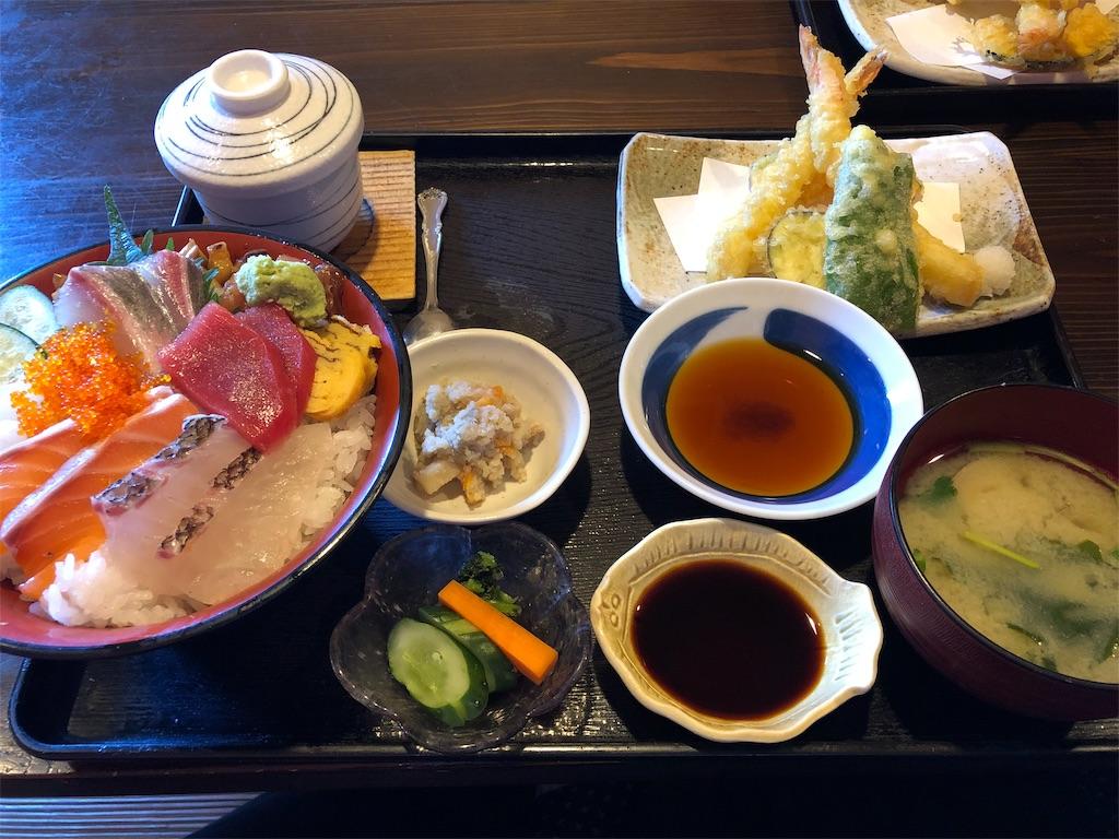 塚本鮮魚店 特上海鮮丼・天ぷら膳