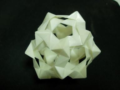 薬包紙で折ったPhizz/擬似Phizz Unit12面体