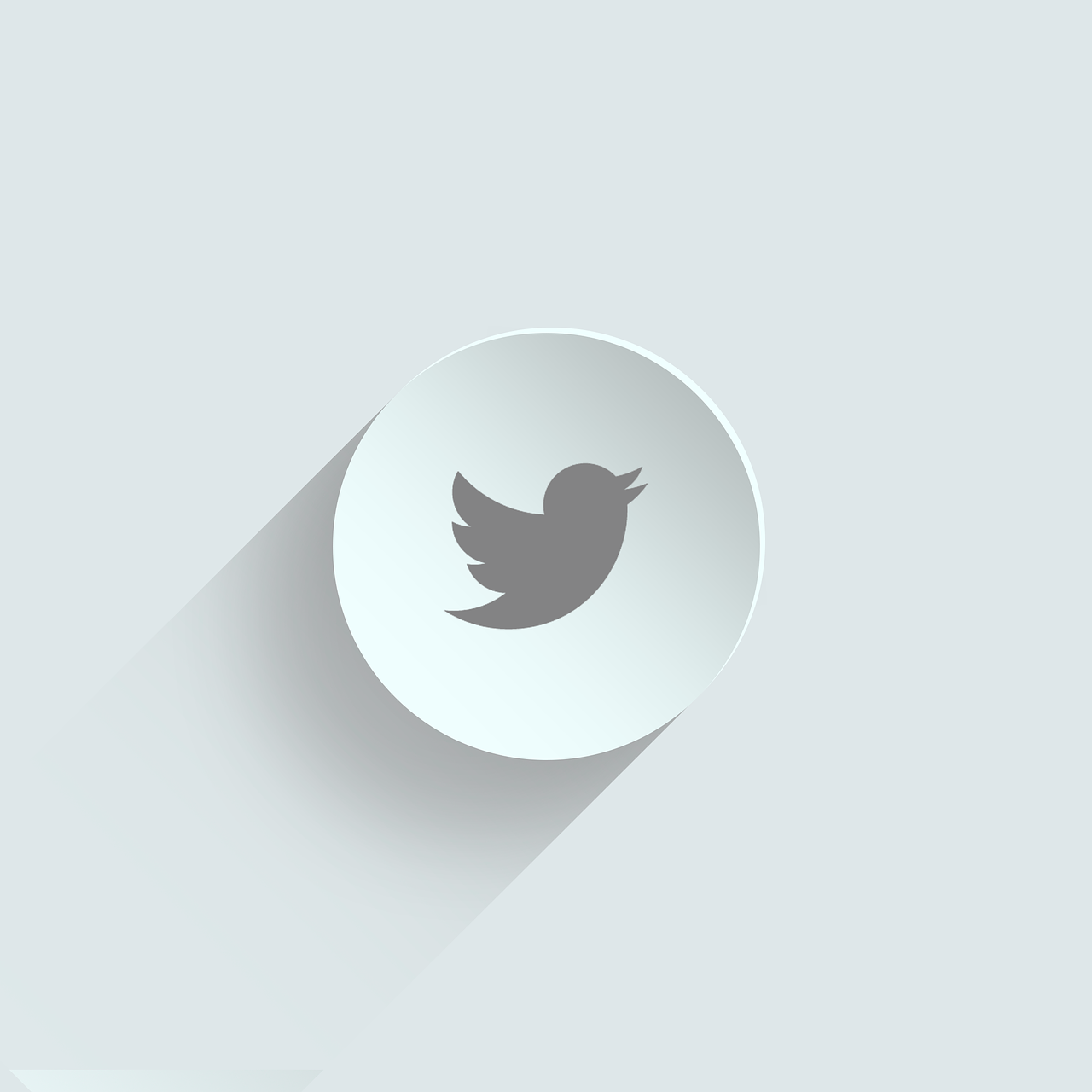 Twitterロゴのイラスト