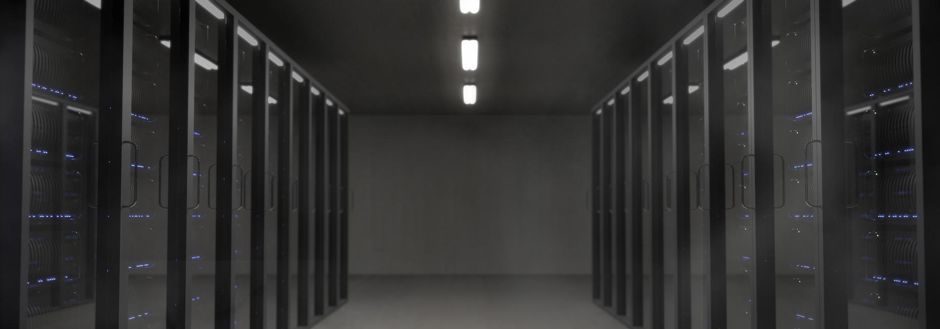 サーバールームの写真