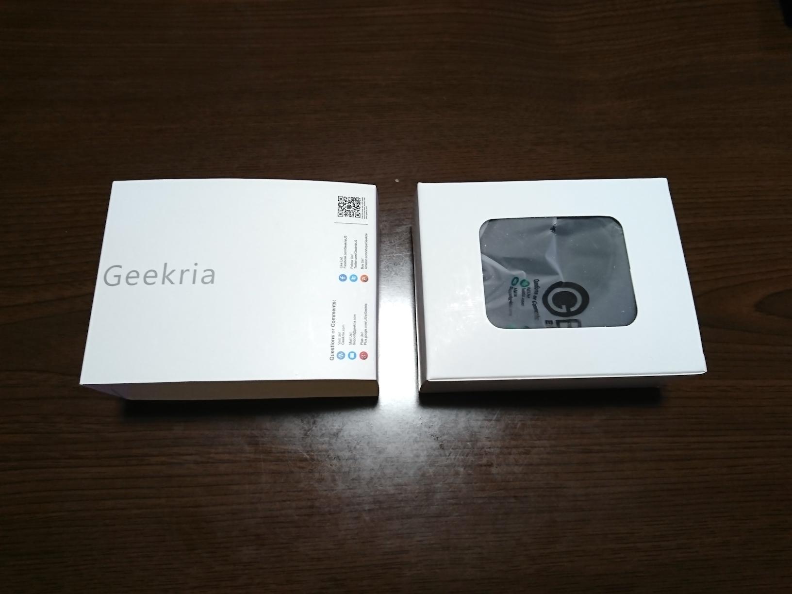 Geekria製イヤーパッドのパッケージ(開けたところ)