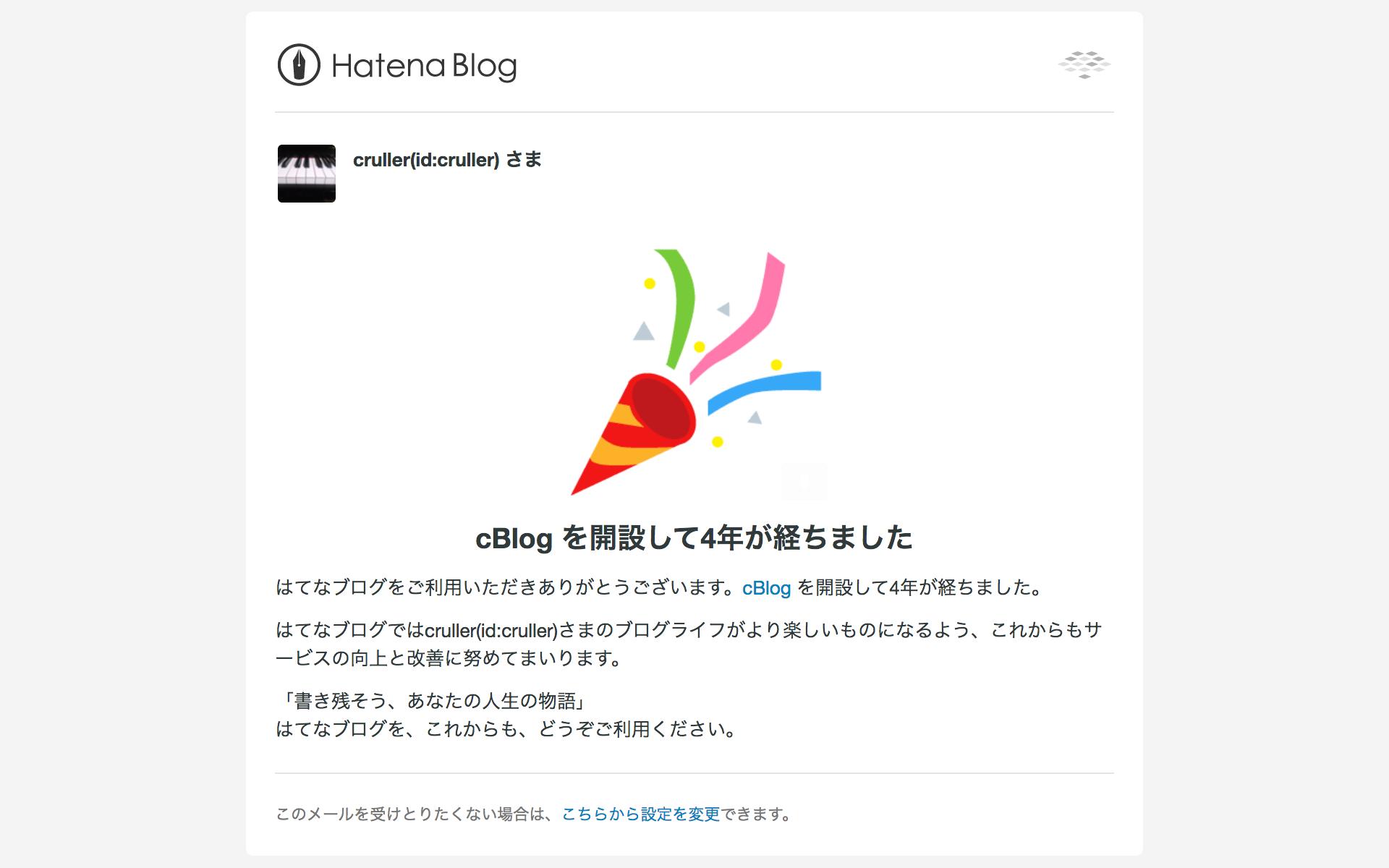 cBlog開設4年