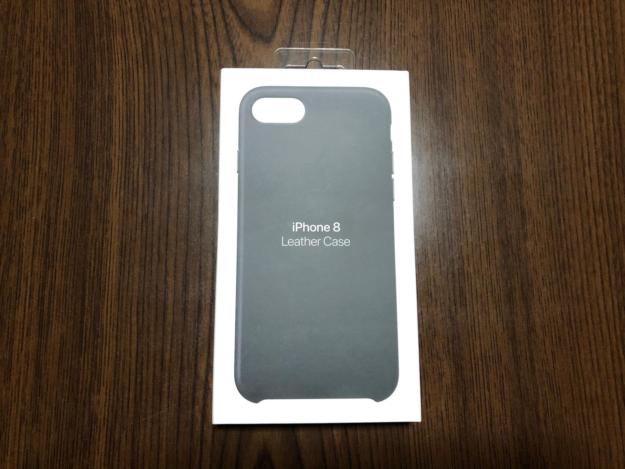 Apple iPhone 8 / 7レザーケース パッケージ