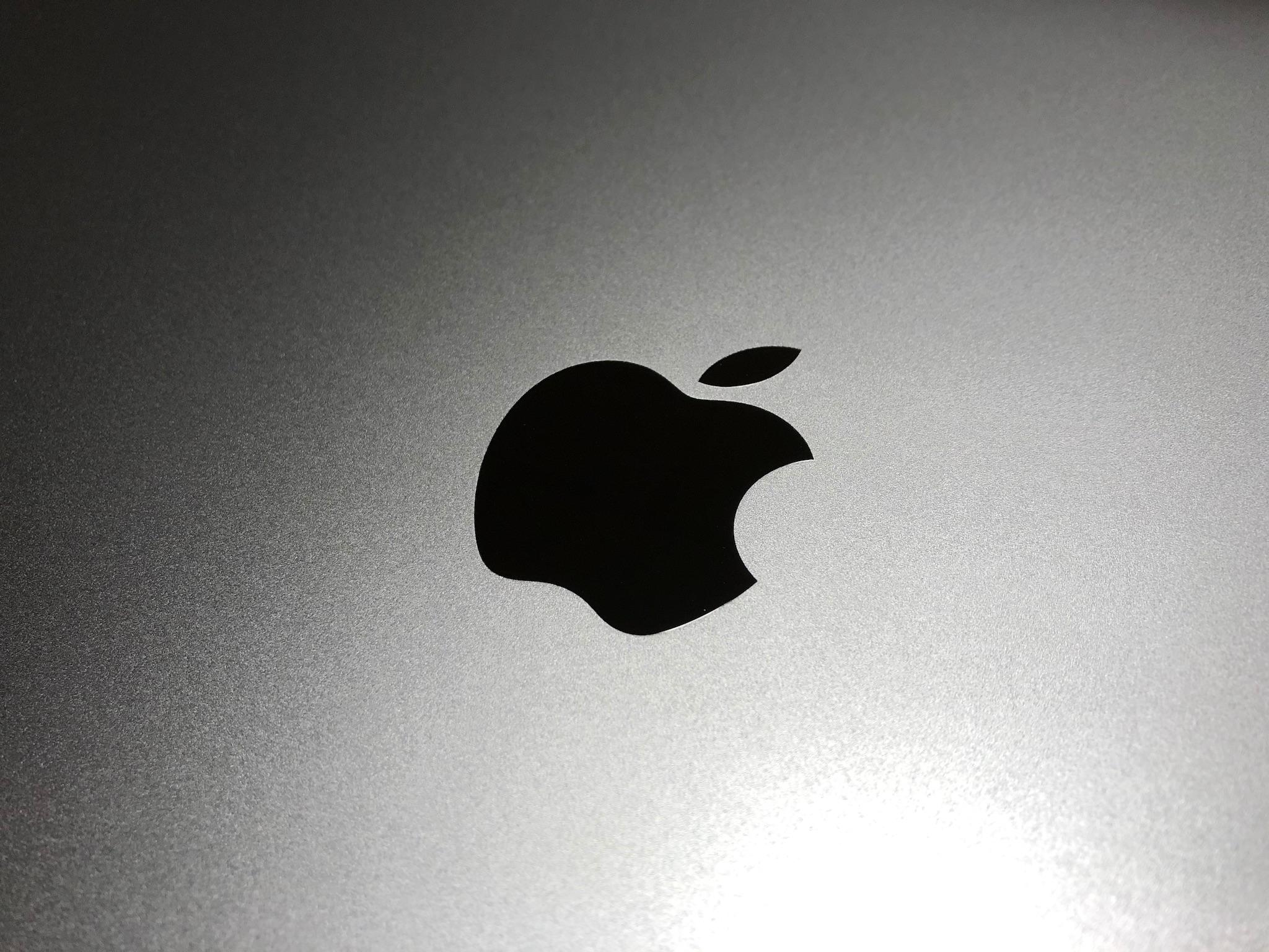 16インチMacBook ProのAppleマーク