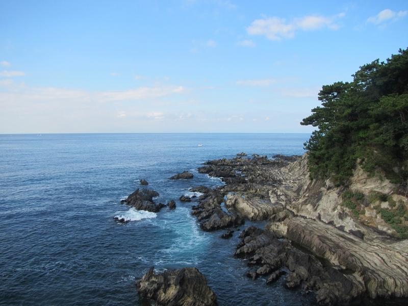 三浦の海岸