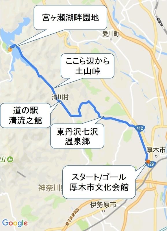 宮ヶ瀬コース