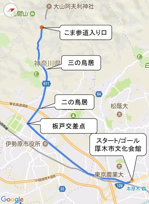 大山コース