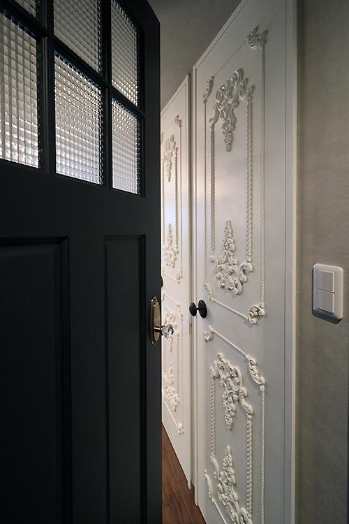 フレンチデコレーションドア|特注ドア