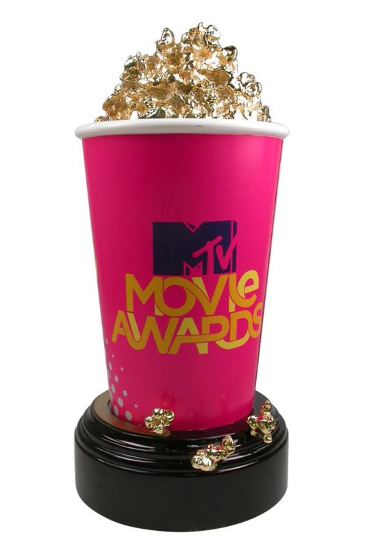 MTV Movie Awards Golden Popcorn Trophy