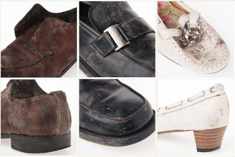 革靴にカビ