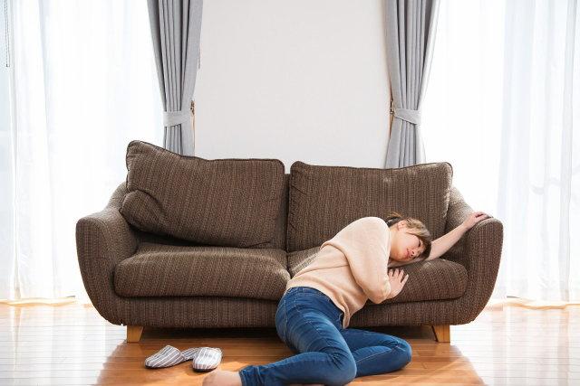 ソファーの汚れ