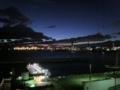 天保山から大阪港の夜景