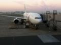 伊丹行き始発便に乗る前