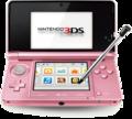 [ニンテンドー3DS][Nintendo3DS][닌텐도3DS][ミスティピンク][Misty Pink][미스티 핑크]ニンテンドー3DS ミスティピンク
