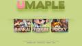 [Nexon][UMaple][ネクソン][エミュ鯖][MapleStory][メイプルストーリー][umaple.net][BANKAI][POCKY][AURA]UMaple.net エミュ鯖 サイト画像