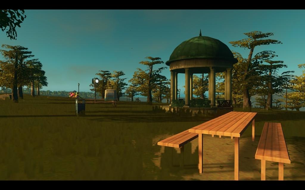 Cities:Skylinesの公園