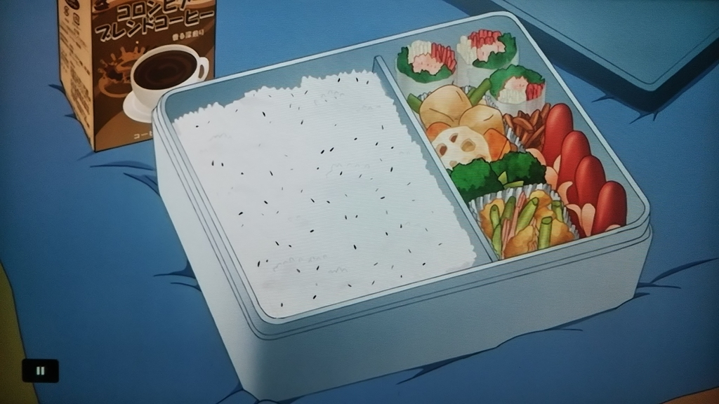 アニメとらドラ!14話に出てくる生春巻きの入ったお弁当