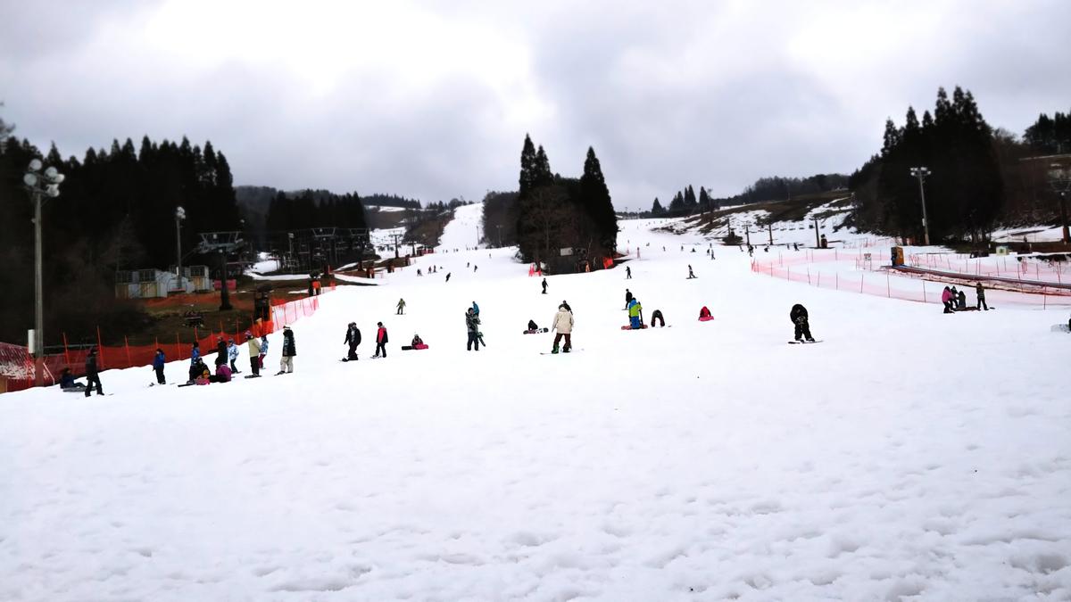 鷲ヶ岳スキー場のゲレンデ