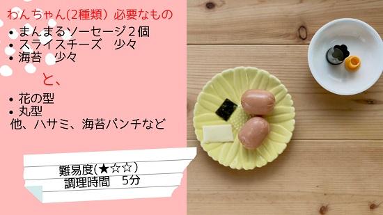 弁当エキスポ 小川真樹 ソーセージのキャラ弁