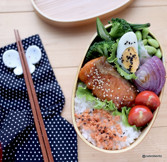 Bentoexpo 小川真樹 鮭のしょうが焼き 魚弁当