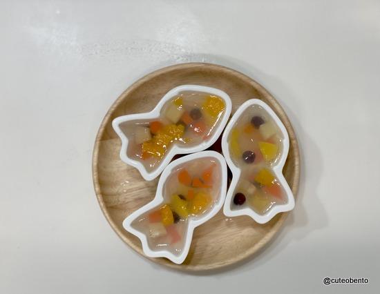 金魚ゼリー cuteobento Maki ogawa