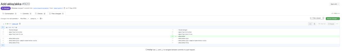 Scala Steward レポジトリ追加の例