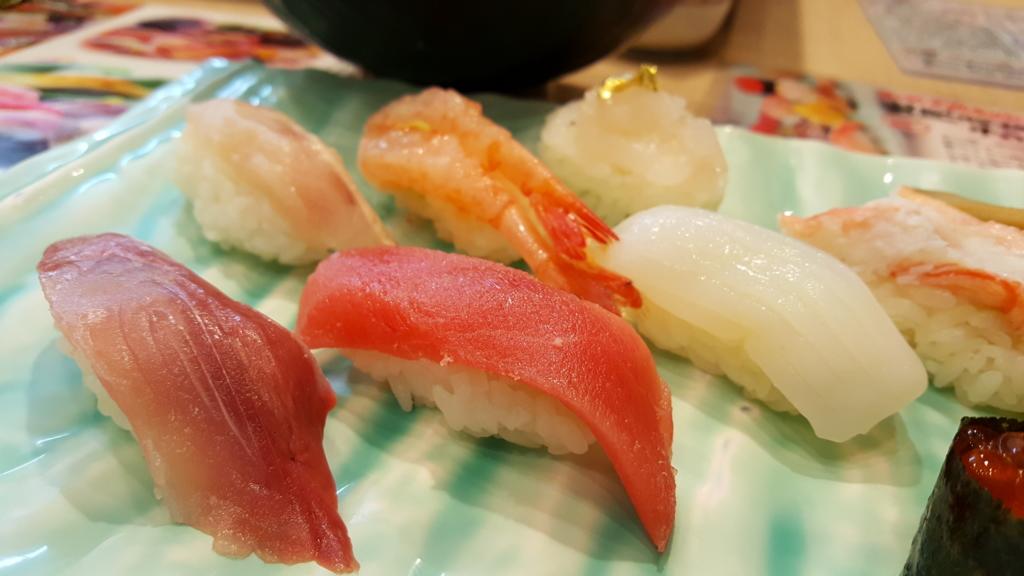 金沢まいもん寿司のランチ