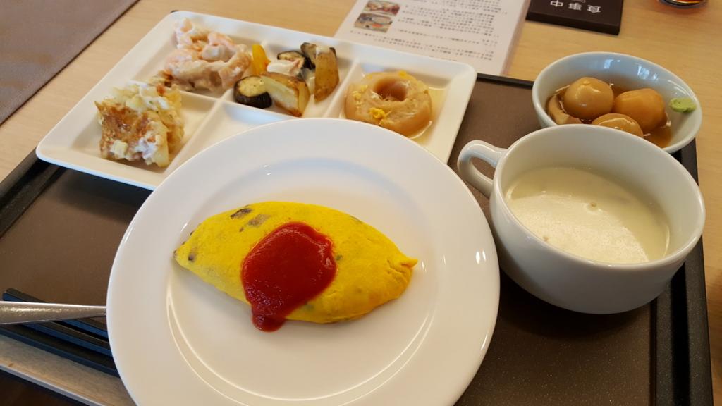 彩の庭ホテルの朝食ビュッフェ