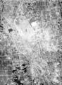 北方競馬場(米国陸軍空中写真/1948年3月27日撮影)