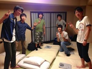 今年も和風旅館です