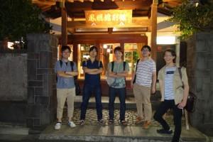 前回は純和風旅館でした (2013年夏)