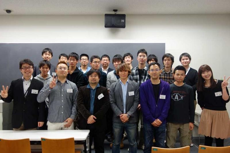 「エンジニアの未来サミット for students 2012」第2回の集合写真