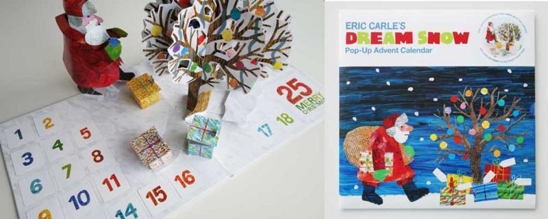 エリック・カールのアドベントカレンダー。