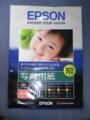 EPSON エプソン純正写真用紙<光沢> A4 20枚 KA420PSKR