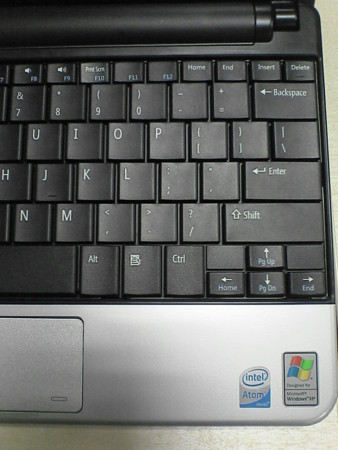 DELL inspiron Mini 10v 英語キーボード