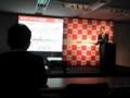 新データプランのプレゼン@イー・モバイル新商品体験イベント