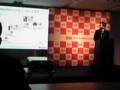 華為技術日本(株)沈燁部長@イー・モバイル新商品体験イベント