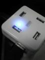 サンワサプライ USB HUB (USB-HUB250W)