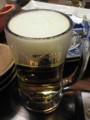 豚組しゃぶ庵の生ビール