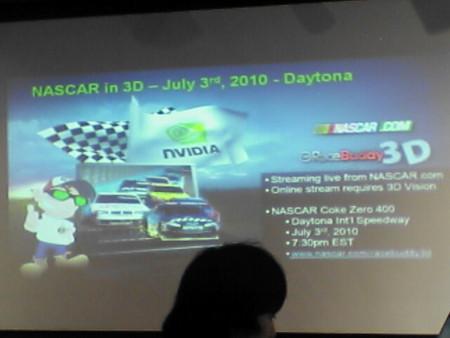 NASCAR in 3D