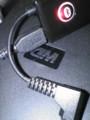 ただいま、USBケーブルで充電中です。