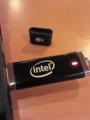 ALIENWARE intel コラボノベルティのUSBメモリ4GB