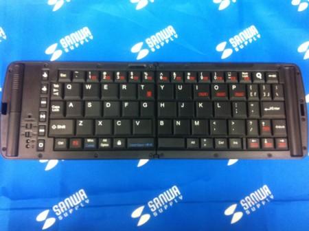 折りたたみ式 Bluetoothキーボード全体