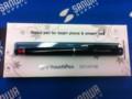 iPad・タブレットPCタッチペン(クリップ付き・細いペン先・ブラック)